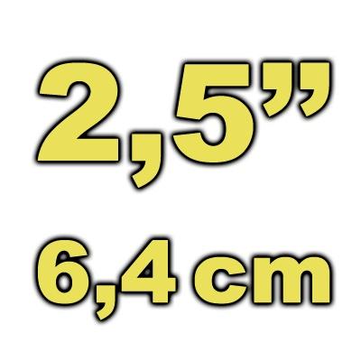 """6,4cm (2,5"""") Gehäuse"""