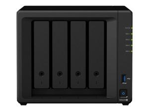 Synology DS420+NAS, 2x USB 3.0, 2x Gigabit-LAN,