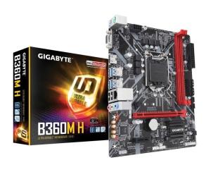 Gigabyte B360M H, Intel B360 Chipsatz, µATX