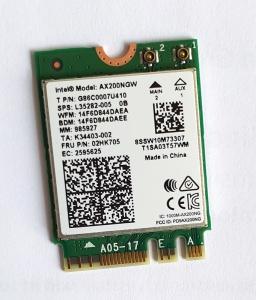 Intel Wi-Fi 6 AX200 ohne vPro, 2.4GHz/5GHz WLAN,