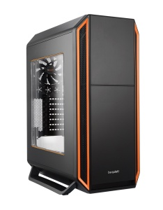 be quiet! Silent Base 800 orange mit Sichtfenster,