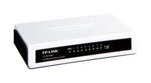 TP-Link Dualspeed-Switch TL-SF1008D, 8 Port