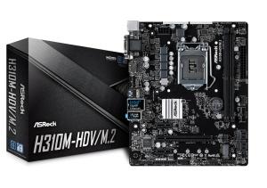 ASRock H310M-HDV/M.2, Intel H310 Chipsatz, µATX