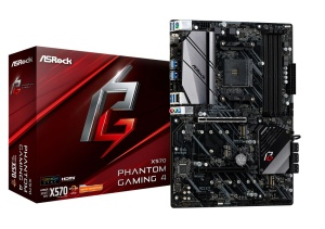 ASRock X570 Phantom Gaming 4, AM4, AMD X570, ATX
