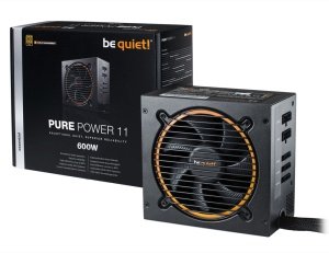 Be Quiet Netzteil Pure Power 11 CM 600 Watt, ATX 2.4