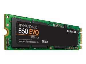 Samsung SSD 860 EVO 250GB, M.2 (MZ-N6E250BW)