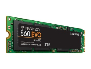 Samsung SSD 860 EVO 2TB, M.2 (MZ-N6E2T0BW)