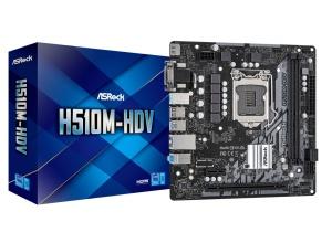 ASRock H510M-HDV, Intel H510 Chipsatz, µATX