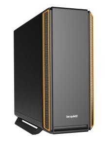 be quiet! Midi Tower Silent Base 801 orange, schallgedämmt
