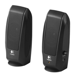 Logitech S-120 Speakers schwarz