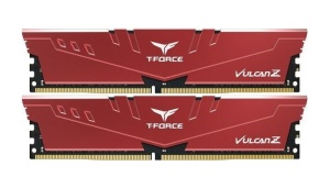 32GB Kit DDR4-RAM, 3600 MHz, TeamGroup T-Force Vulcan Z rot,
