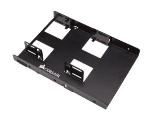 Corsair Dual Festplatten Einbaurahmen 6,4 cm (2,5) HDD/SSD