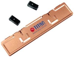 Titan RAM-Kühlkörper, Kupfer