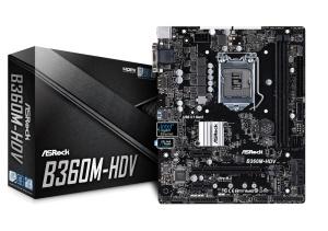 ASRock B360M-HDV, Intel B360 Chipsatz, µATX