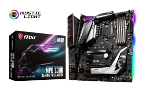 MSI MPG Z390 GAMING PRO CARBON, Intel Z390 Chipsatz, ATX