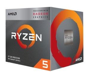 AMD Ryzen 5 3400G, 4x 3.70GHz, boxed mit Wraith Spire