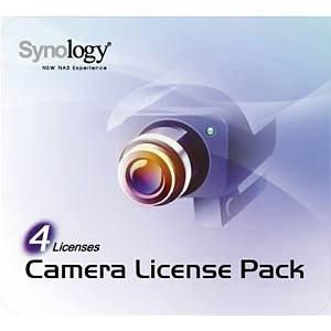 Synology Camera License Pack - Lizenz - 4 Kameras