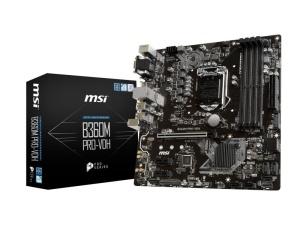 MSI B360M Pro-VDH, Intel B360 Chipsatz, µATX