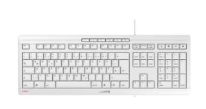 Cherry Stream Keyboard 2019 weiß-grau, USB, DE (JK-8500DE-2)