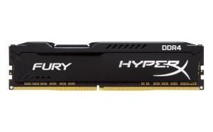 8GB DDR4-RAM, 3200 MHz, Kingston HyperX Fury schwarz,