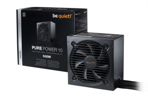 be quiet! Netzteil Pure Power10 500 Watt, ATX 2.4