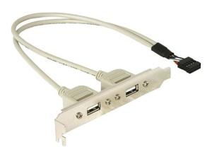 Delock USB Slot Adapter USB 2.0