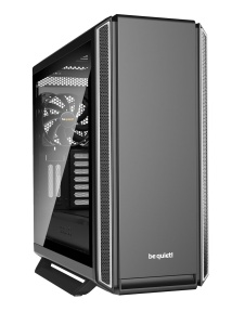 be quiet! Midi Tower Silent Base 801 silber Glasfenster,