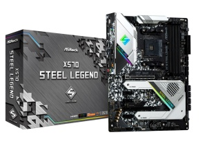 ASRock X570 Steel Legend, AM4, AMD X570, ATX