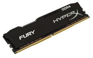 8GB DDR4-RAM, 2666 MHz, Kingston HyperX Fury schwarz