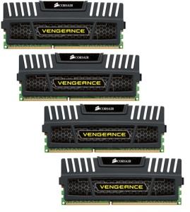 16 GB Kit DDR3-RAM, 1600 MHz, PC3-12800, Corsair Vengeance
