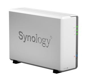Synology DS120J NAS, 2x USB 2.0, Gigabit-LAN,