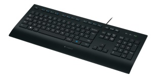 Logitech K280e Pro Corded Keyboard for Business, USB