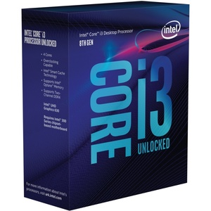 Intel Core i3-8350K, 4x 4000 MHz, Coffee Lake, boxed