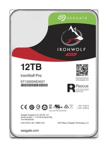 Seagate IronWolf Pro ST12000NE0007, 12 TB, NAS