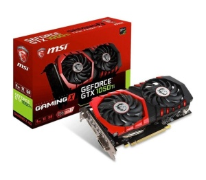 MSI GeForce GTX 1050 Ti Gaming X 4G, 4GB GDDR5,