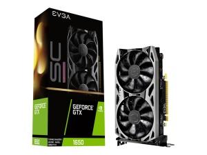 EVGA GeForce GTX 1650 SC Ultra Gaming, 4GB GDDR6,