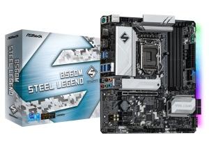 ASRock B560M Steel Legend, Intel B560 Chipsatz, µATX
