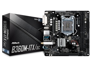 ASRock B360M-ITX/ac, Intel B360 Chipsatz, Mini-ITX