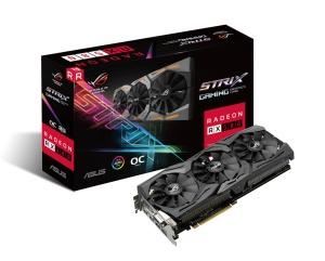 ASUS ROG Strix Radeon RX 580 OC, ROG-STRIX-RX580-O8G-GAMING,