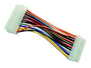 ATX Netzteil-Adapter von Netzteil 24pol an Board 20pol