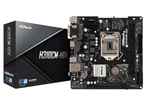 ASRock H310CM-HDV, Intel H310 Chipsatz, µATX