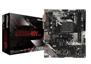 ASRock A320M-HDV R4.0, AM4, AMD A320, µATX