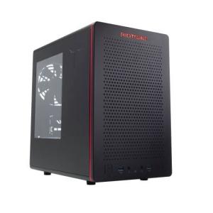 Riotoro CR280, Acrylfenster, Mini-ITX, schwarz,
