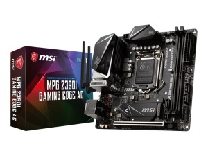 MSI MPG Z390I Gaming Edge AC, Intel Z390 Chipsatz, Mini-ITX