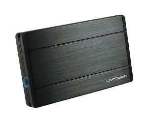 6,4cm S-ATA LC-Power LC-25U3-DIADEM, ext. HDD-Gehäuse USB3.0