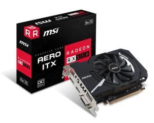 MSI Radeon RX 550 Aero ITX 4G OC, 4GB GDDR5,