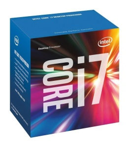 Intel Core i7-6700, 4 x 3400 MHz, Skylake, boxed