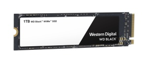 Western Digital WD Black NVMe SSD 1TB, M.2 [2018]