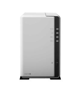 Synology DS218J NAS, 2x USB 3.0, Gigabit-LAN,