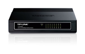 TP-Link Dualspeed-Switch TL-SF1016D, 16 Port